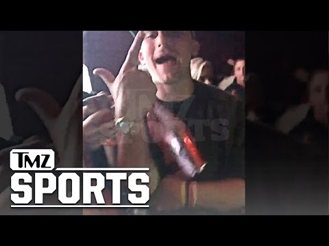Johnny Manziel Slammin' Champagne During 2 Night Party Bender