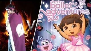 Warren Vs Dora's Ballet Adventure!