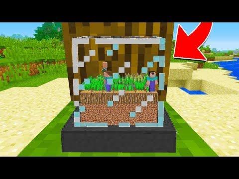 НУБ НАШЕЛ ДЕРЕВНЮ В СТЕКЛЯННОМ БЛОКЕ В Майнкрафте! Minecraft Мультики Майнкрафт троллинг Нуб и Про
