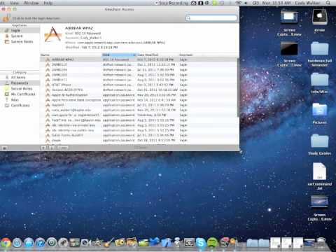 How to (easily) recover a forgotten Wi-Fi Password - Mac OSX