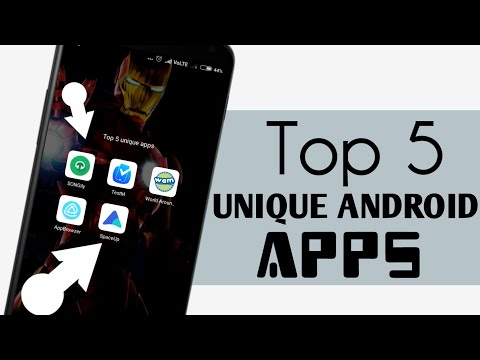 Top 5 Best UNIQUE Android Apps 2018 | Best Android apps 2018 - Must Install!