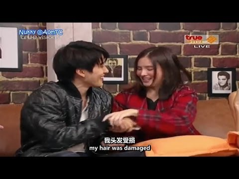 "【ENG&CHN SUB】Aom Mike Tae Toh ""Full House Thai"" @Why? Society 7Feb14"