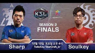 KSL 시즌 2 - 결승전 조기석 vs 김민철