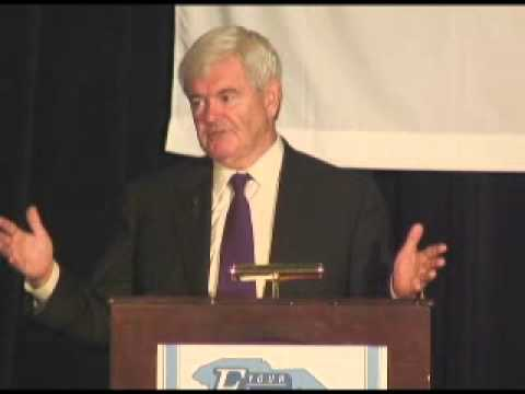 Newt Gingrich at ECSC Summer Conference