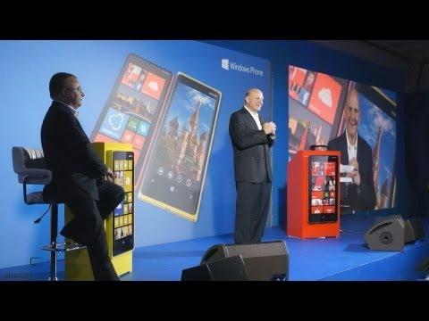 Презентация Nokia Lumia 920 и 820 в Москве: Баллмер и Элоп
