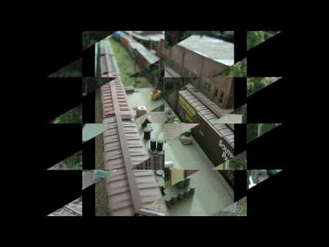 Nscale Model Train Layout For Sale 2 Video