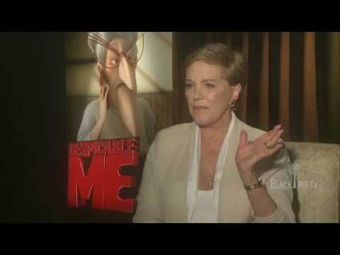Despicable Me an interview with the Legendary Julie Andrews