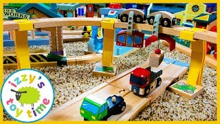 BRIO SKY TRAIN! With Thomas and Friends! Fun Toy Trains for Kids!