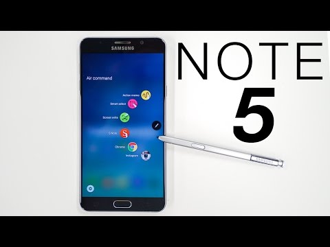 Galaxy Note 5 Unboxing & Impressions!