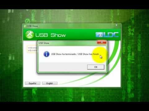How to show hidden files on a usb flash drive