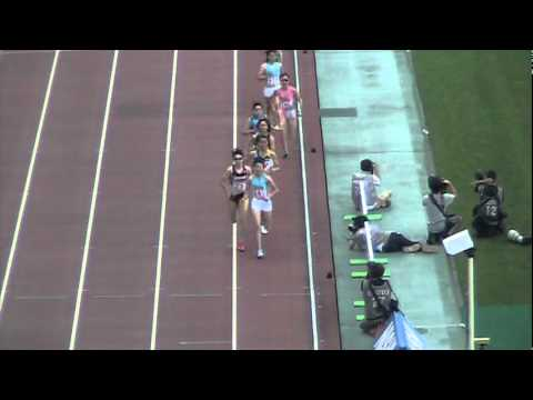 Women's 800 m Final - 2012 Japanese Olympic Trials 第96回日本選手権女子800m決勝