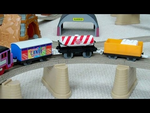 Trackmaster Thomas & Friends SODOR CANDY CARS/TRUCKS Kids Toy Train Set Thomas The Tank Engine