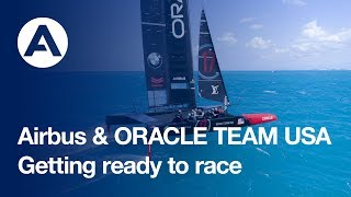 Getting ready to race: America's Cup boat revealed in Bermuda
