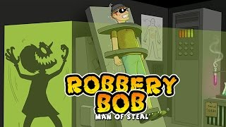 Robbery Bob Free Gameplay 2 All Costumes, Items, & Maxed ...