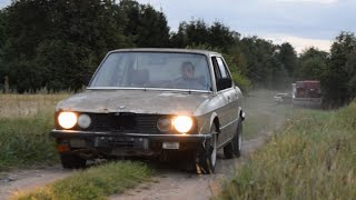1981 BMW E28 520i Test Drive After 9 Years (1080p)