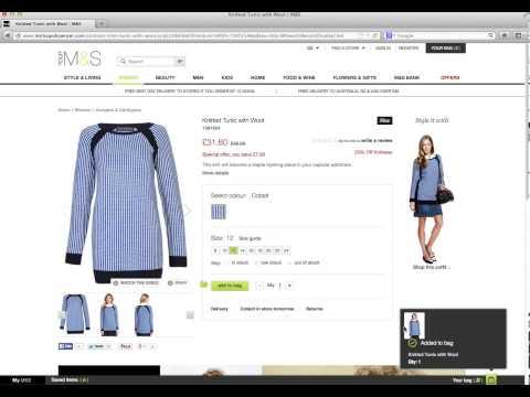 A tour of Marks & Spencer's new website