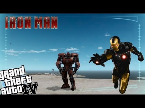 GTA IV LCPDFR Iron Man Mod Police Patrol - Episode 16 - Crimson Dynamo Armour