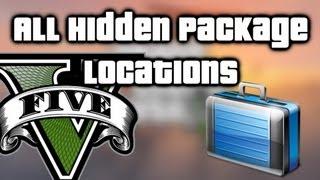 GTA V (5) - All Hidden Packages Locations - Easy $150,000+!