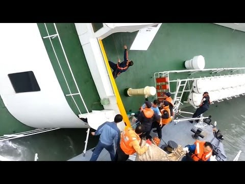 South Korean Ferry: Video Captures Captain Lee Joon Seok Abandoning Sinking Sewol