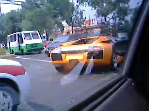 Lamborghini en la Ciudad de México