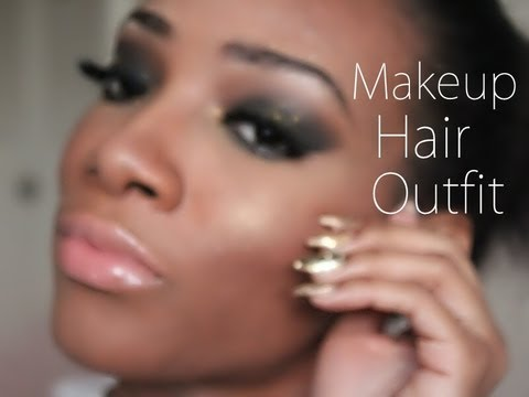 Get Ready with Me / Makeup Hair Outfit