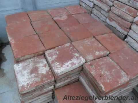 Alte bodenziegel dachbodenziegel und geschnittene alte for Boden ziegelsteine