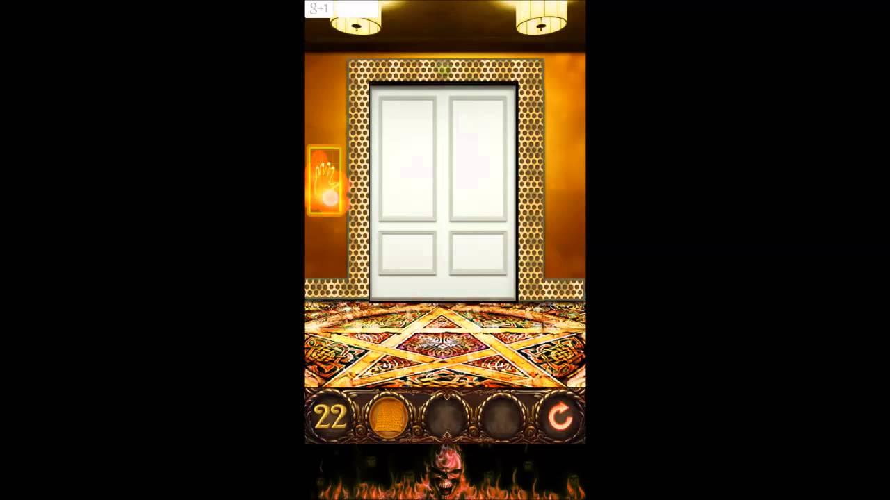 100 doors hell prison escape level 22 walkthrough youtube for 100 doors door 22