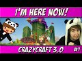 Im Here Now! | Ep. 1 | CrazyCraft 3.0 Roleplay