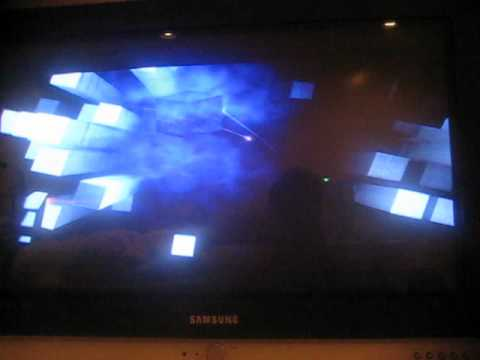 Playstation 2 wrong disc format screen (