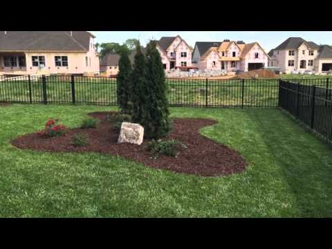 Completed Spring hill tn landscape installation