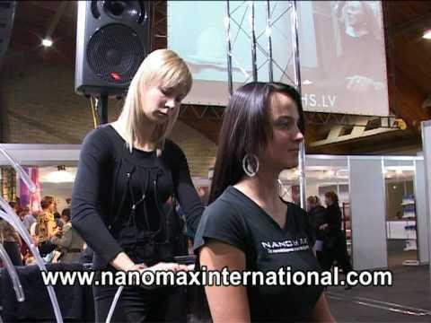Восстановление волос с NANOMAX.
