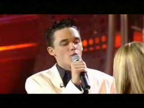 Gareth Gates and Rachel Stevens - You Are Everything duet on Pop Idol.