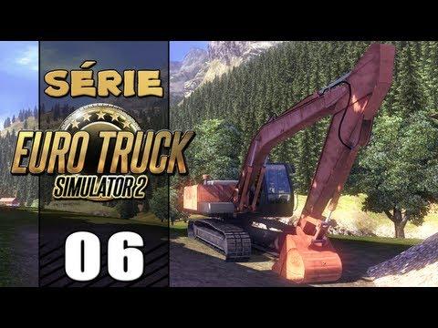 Euro Truck Simulator 2 - Escavadeira Entregue