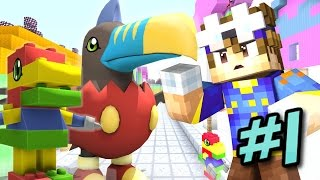 Minecraft Digimobs Roleplay Episode 1 ? TOY TOWN! (Minecraft Digimon Roleplay)