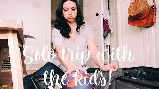 PACKING TO LEAVE   KONMARI Kids Clothes Cleanup   Vlog 7