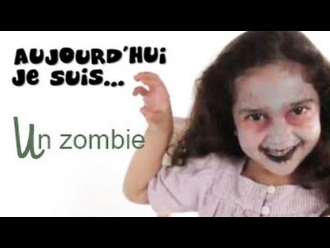 maquillage zombie tutoriel maquillage enfant facile. Black Bedroom Furniture Sets. Home Design Ideas