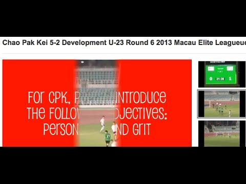 Chao Pak Kei 5-2 Development U-23 Round 6 2013 Macau Elite Leagueue