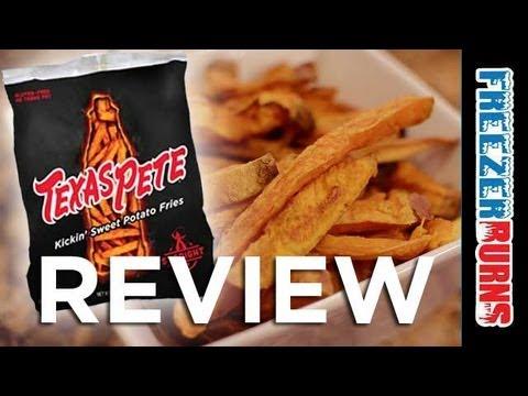Texas Pete Kickin' Sweet Potato Fries Review: Freezerburns (Ep589)