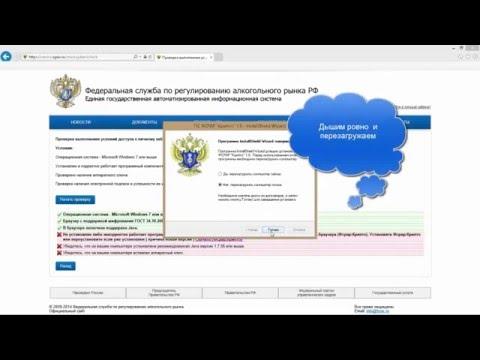 Видео как проверить работу УТМ ЕГАИС