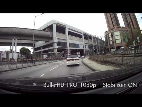 Stabilizer TEST - BulletHD PRO 1080p VS GoPro Hero 1080p