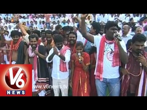 Mallepally Laxmaiah - Telangana Songs - Sakala Janaberi Sabha 16 video
