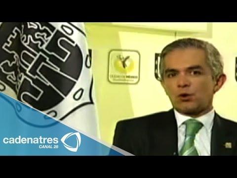 Entrevista a Miguel Ángel Mancera, Jefe del gobierno del Distrito Federal