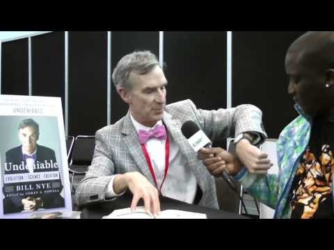 Bill Nye New York Comic Con Interview
