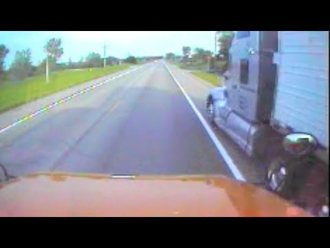 State Patrol Locates Driver Of Semi Involved In Dangerous School Bus Incident video
