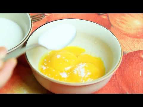 Очень вкусный завтрак из трех яиц