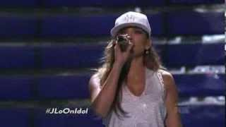 Jennifer Lopez: Goin' In ft. Flo Rida  (Live American Idol - Promo)
