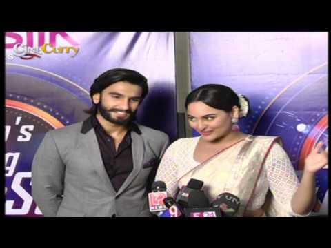 Ranveer & Sonakshi promote Lootera on the sets of India's Dancing Superstar