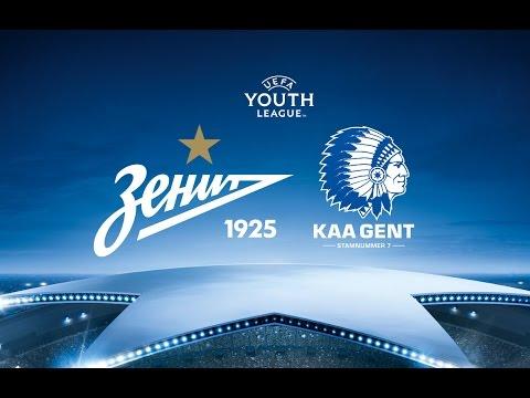 Юношеская лига УЕФА: «Зенит» — «Гент» / UEFA Youth League: Zenit — Gent