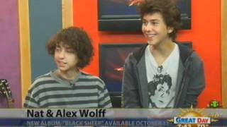 Nat & Alex interview on KMPH!