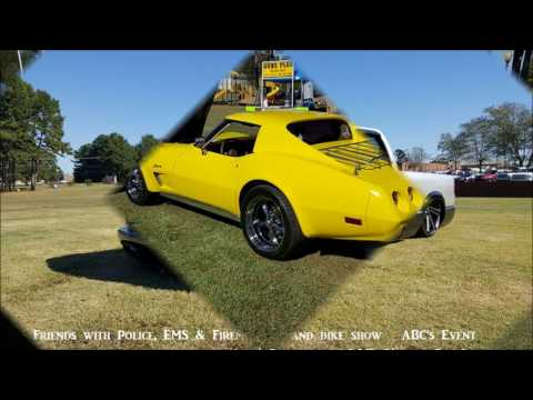 2016 Friends with Police Ems and Firemen Car and Bike Show video